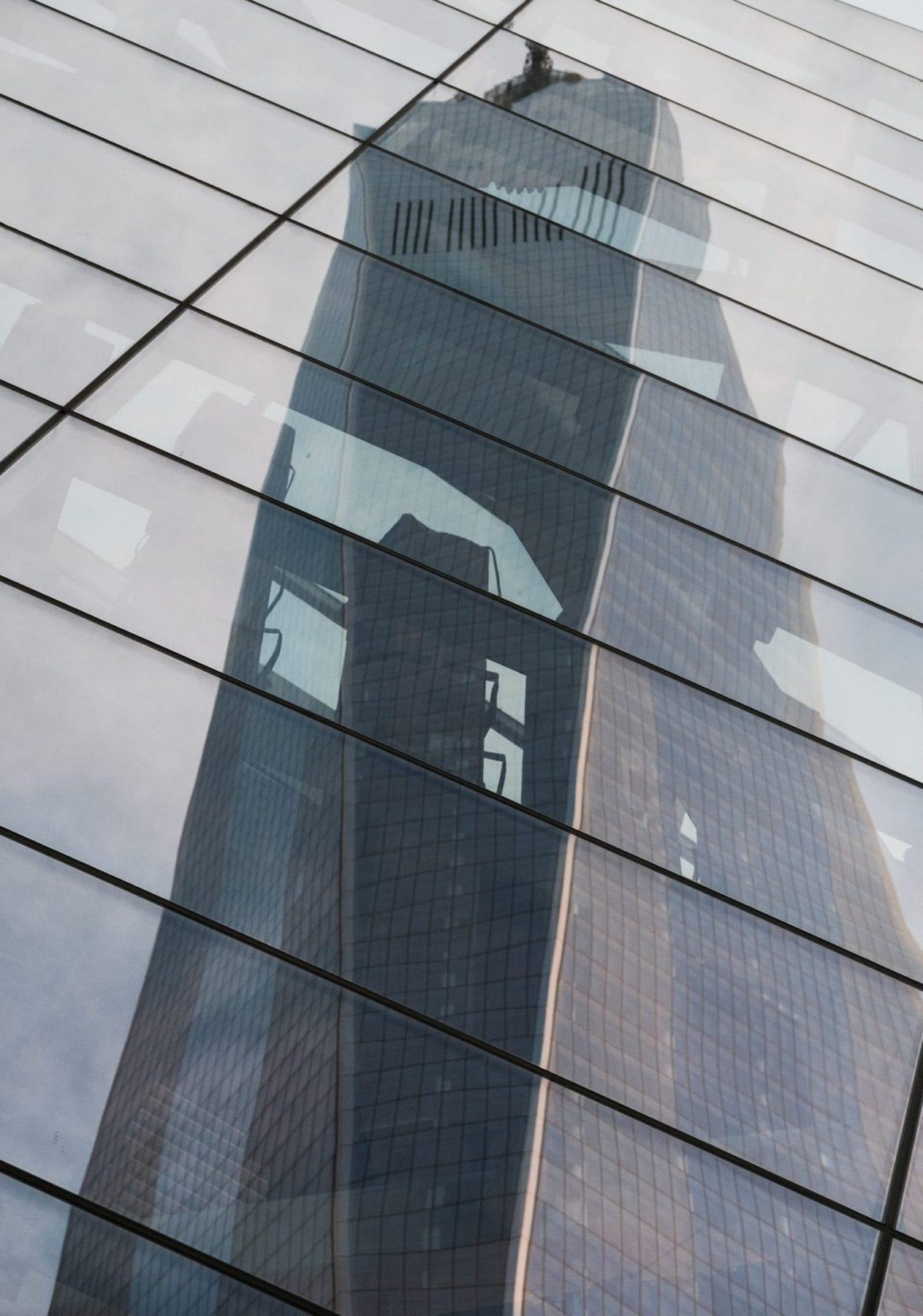 NYC WTC Reflection